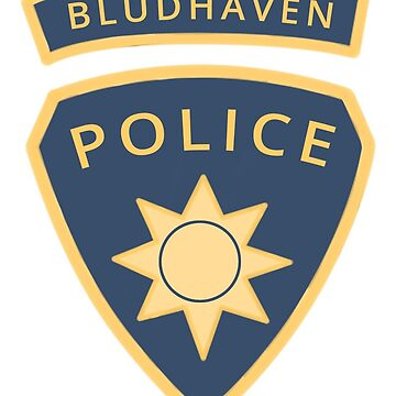 Bludhaven Police Badge by oohnah