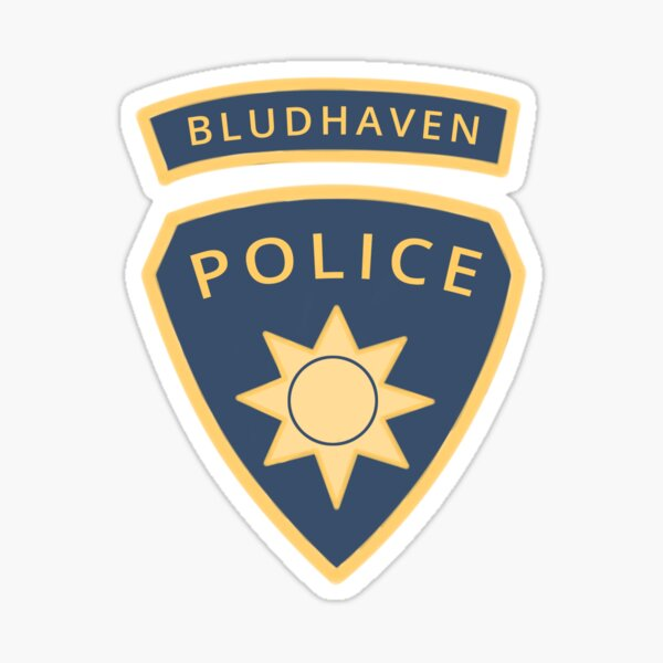 Bludhaven Police Badge Sticker