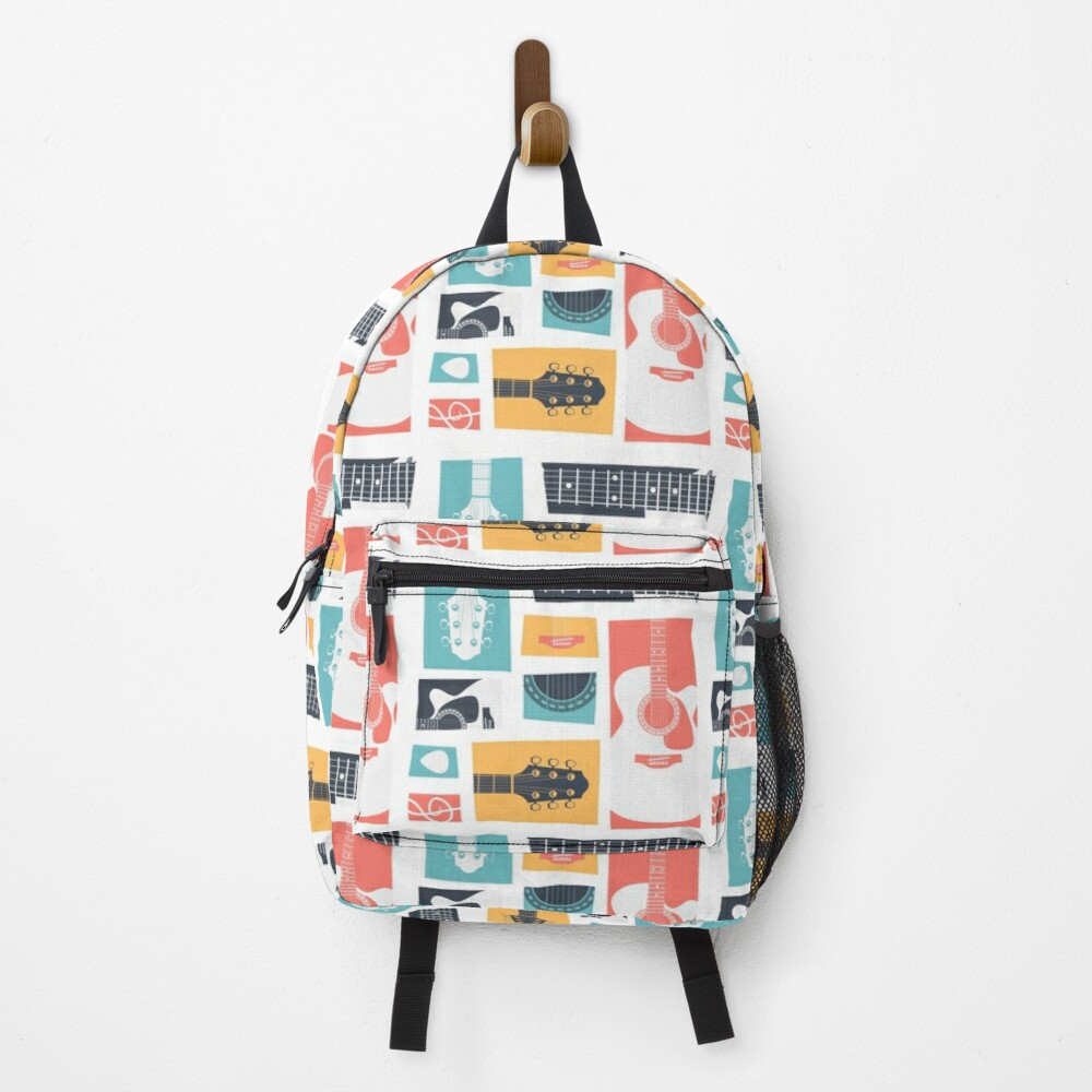 Guitar Collage Backpack