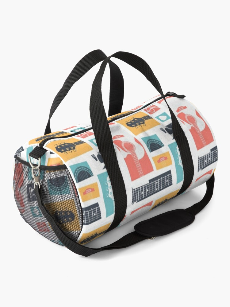 Alternate view of Guitar Collage Duffle Bag