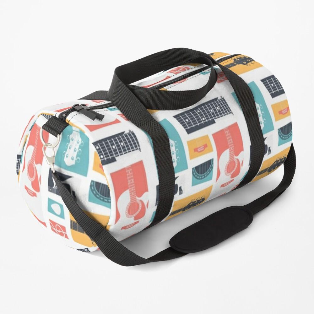 Guitar Collage Duffle Bag