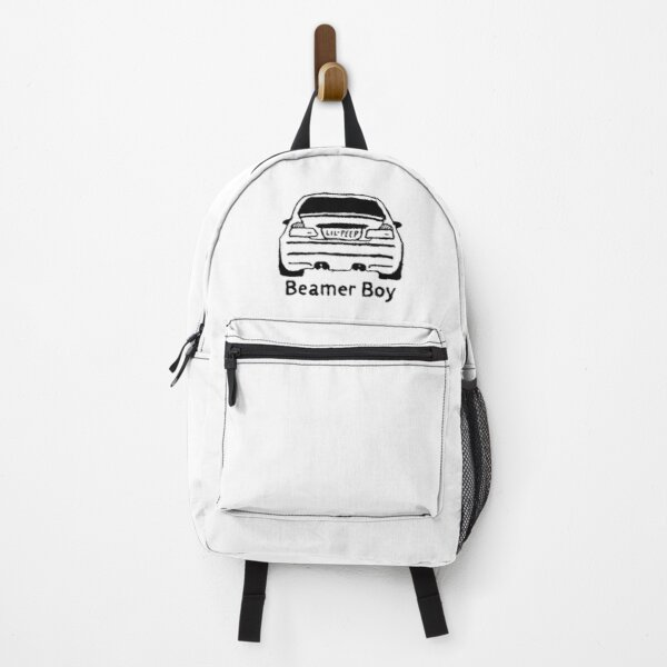 Lil Peep and Lil Tracy Beamer Boy Car Design Backpack