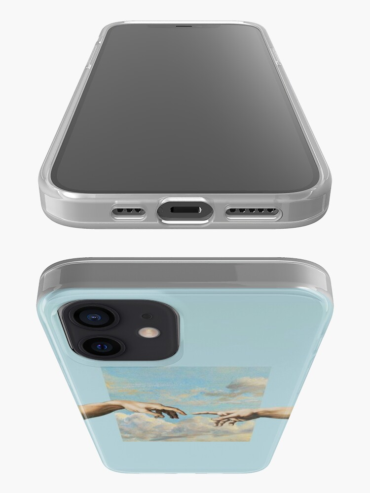 Alternate view of Michaelangelo The Creation of Adam Phone Case iPhone Case & Cover