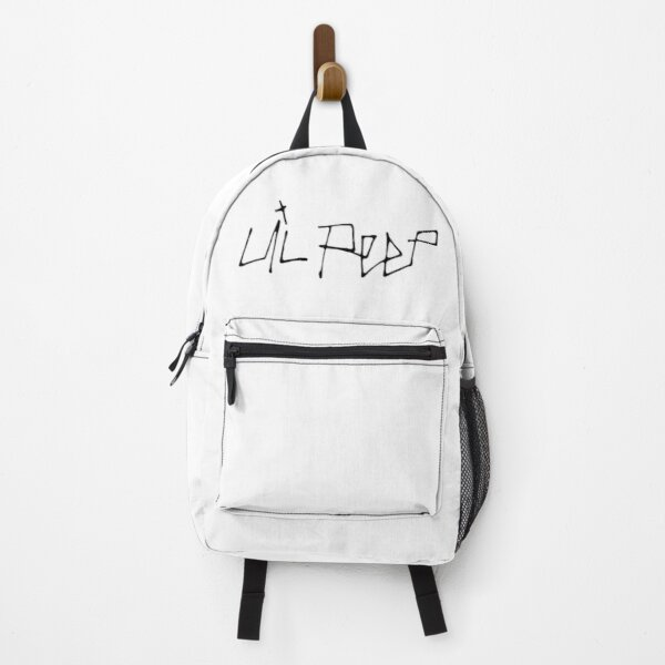 Lil Peep and Lil Tracy Name Cool Calligraphy Design Backpack