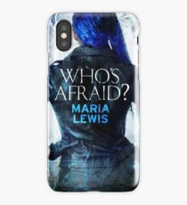 Who's Afraid? Cover Art iPhone Case/Skin