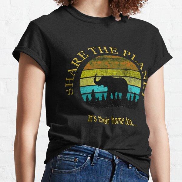 Share the Planet Elephants Classic T-Shirt