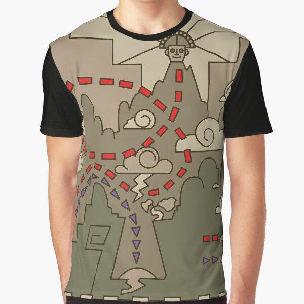 Kuzco Map Graphic T-Shirt