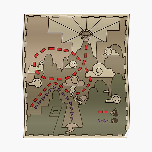 Kuzco Map Poster