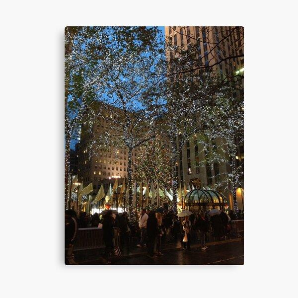 Rockefeller Center Christmas Tree 2012 Canvas Print
