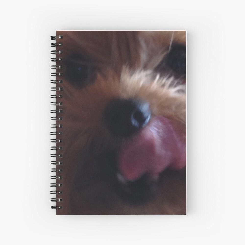 Cute Yorkshire Terrier  Spiral Notebook