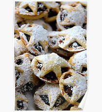 mince pies Poster