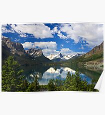Glacier National Park from the Going-to-the-Sun Road Poster