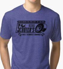 Scooter's Workshop v2 Tri-blend T-Shirt