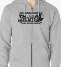 Scooter's Workshop v2 Zipped Hoodie