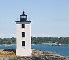 Dutch Island Lighthouse by ValeriesGallery