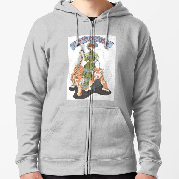 Lady Valerie Meux, 1847-1910 Zipped Hoodie