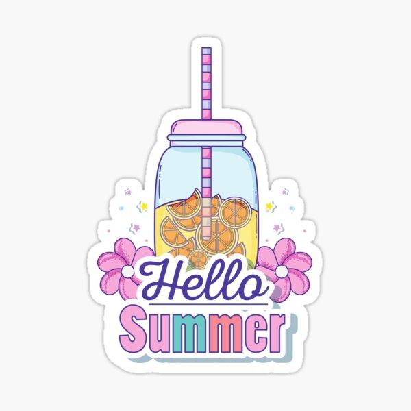 Goodbye school, hello summer Sticker