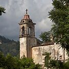Tepoztlan church by styles