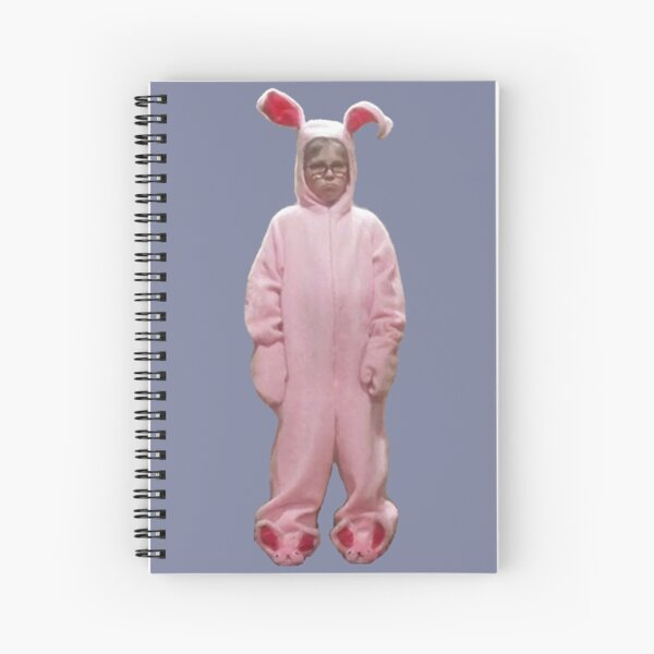 Ralphie's Pink Nightmare Spiral Notebook