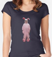 Ralphie's Pink Nightmare Women's Fitted Scoop T-Shirt