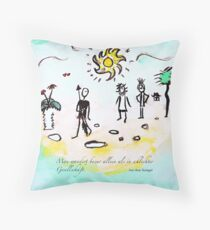 Wandern Throw Pillow
