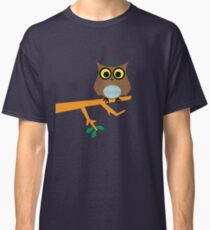 Owl on a Limb Classic T-Shirt