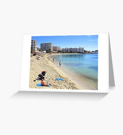 Santa Eulalia Greeting Card