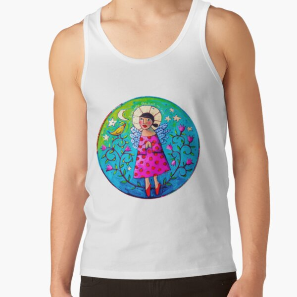 """""""Lean into the light, my love"""" Tank Top"""