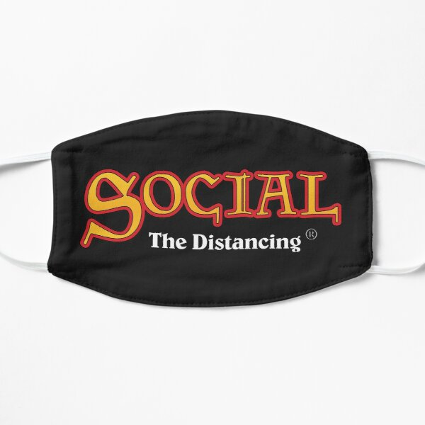 Social The Distancing (Magic The Gathering) Masque sans plis