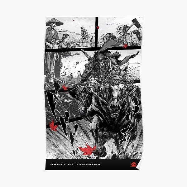 GHOST OF TSUSHIMA - THE HORSEMAN Poster