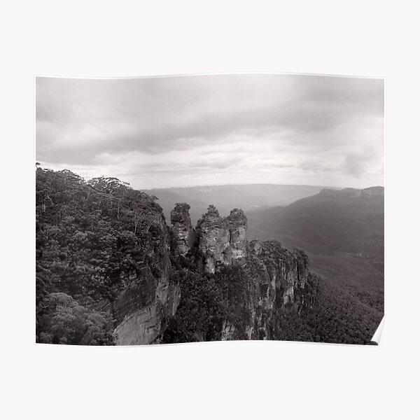 The Three Sisters - NSW - Australia Poster