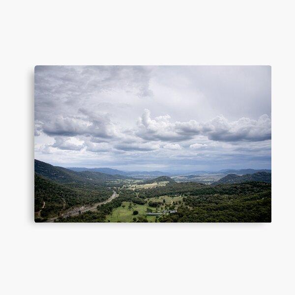 Clouds over Moonbi - NSW - Australia Canvas Print