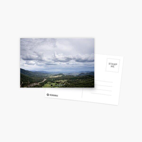 Clouds over Moonbi - NSW - Australia Postcard