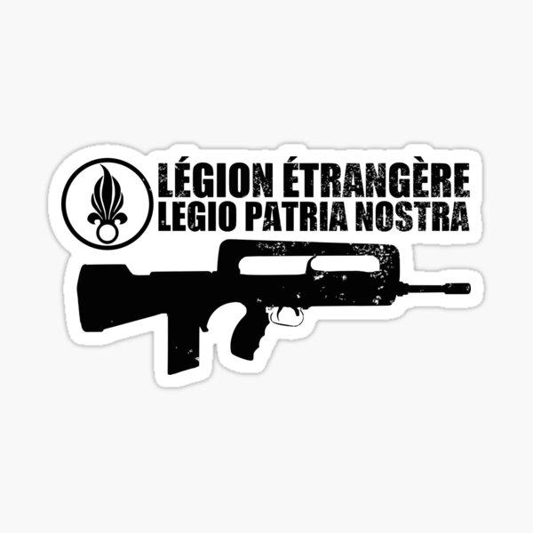vétérans et passionnés d'histoire militaire. Fait également un cadeau cool de la Légion étrangère à Noël et aux anniversaires. Vous cherchez l'armée Sticker