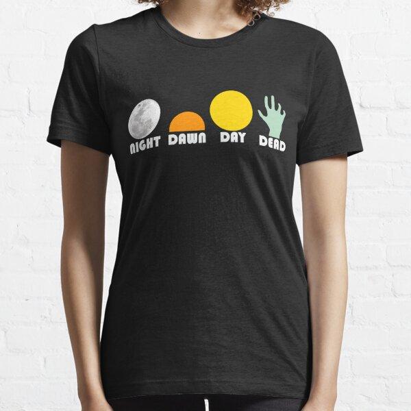 The Dead Trilogy 1968-1985 white print Essential T-Shirt