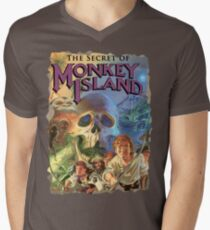 The Secret of Monkey Island Men's V-Neck T-Shirt