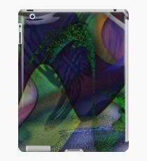 butterfly distortion iPad Case/Skin