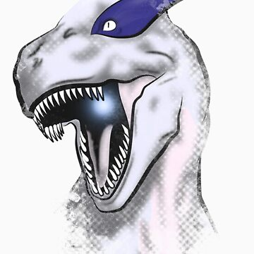 Lugiasaur by trekvix