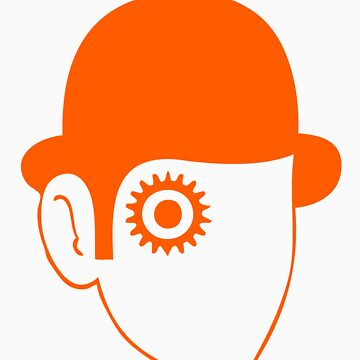 A Clockwork Orange sticker by rmysterio80