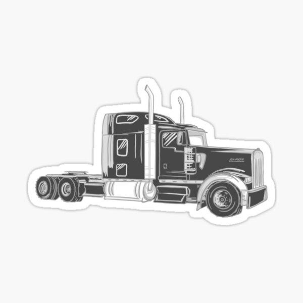 Kenworth truck Sticker