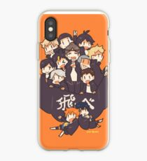 Haikyuu!! Team Karasuno iPhone Case