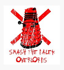 Dalek Overlords Photographic Print