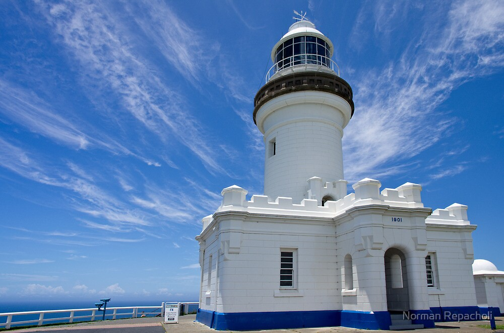 Cape Byron Lighthouse - NSW - Australia by Norman Repacholi