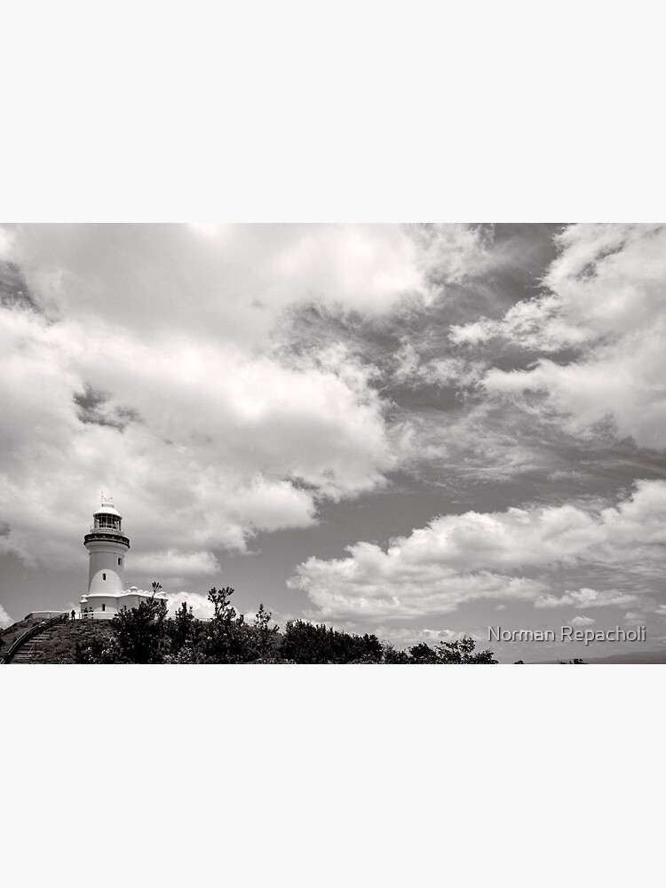 Lighthouse in the Clouds - NSW - Australia by keystone