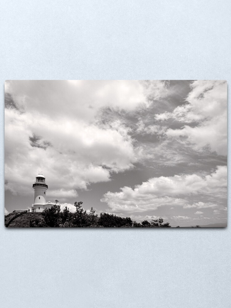 Alternate view of Lighthouse in the Clouds - NSW - Australia Metal Print