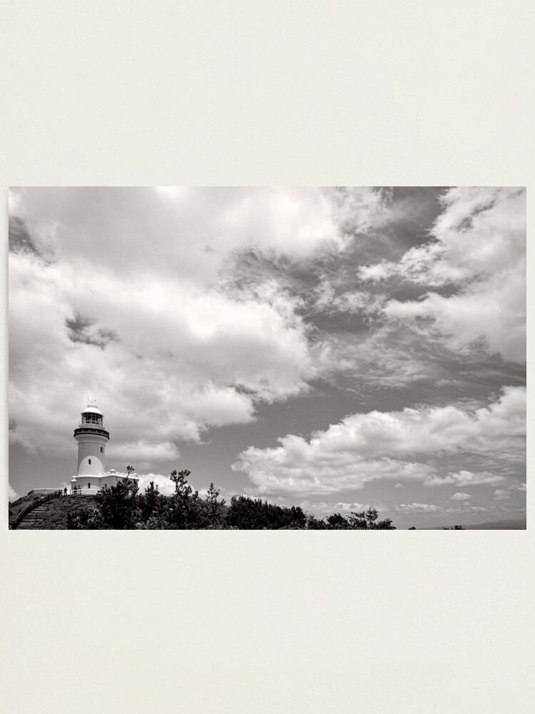 Alternate view of Lighthouse in the Clouds - NSW - Australia Photographic Print