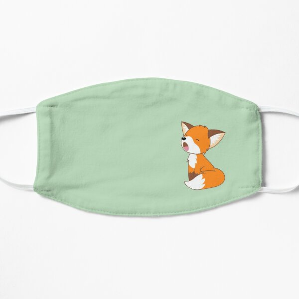 Cute Sleepy Little Fox Mask