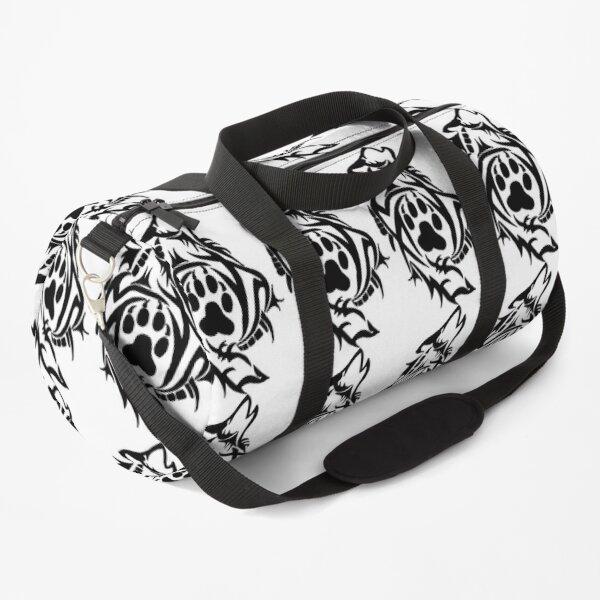 Tribal wolf n ° 2 Duffle Bag