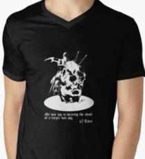 War Pig Men's V-Neck T-Shirt