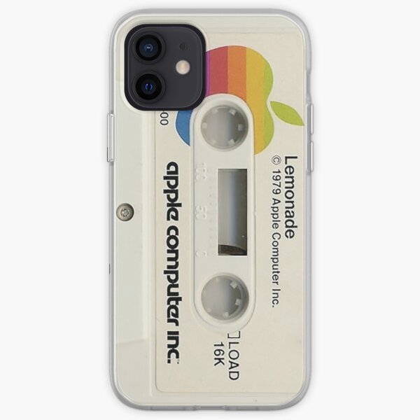 Apple Retro Cassette Lemonade Vintage 70s  iPhone Soft Case